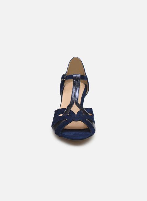 Escarpins Georgia Rose Semosta Bleu vue portées chaussures