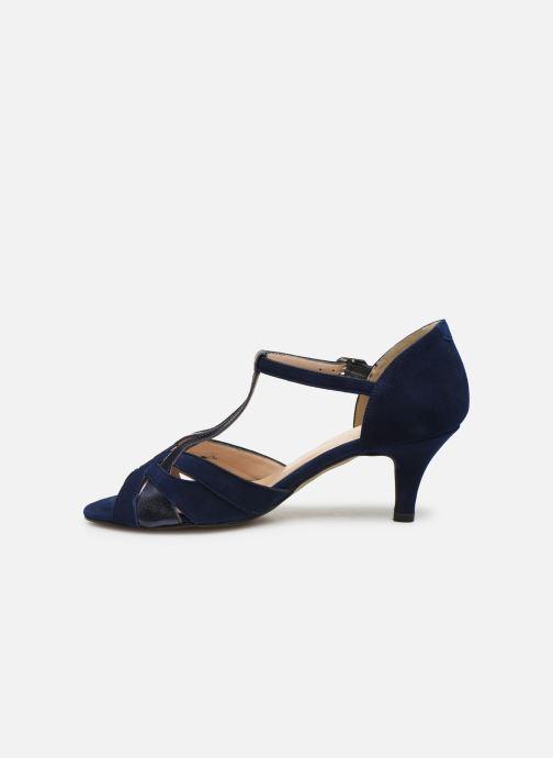 Zapatos de tacón Georgia Rose Semosta Azul vista de frente