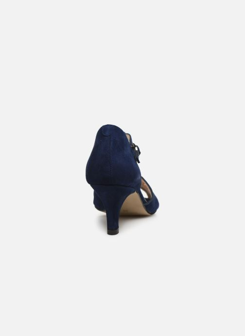 Zapatos de tacón Georgia Rose Semosta Azul vista lateral derecha