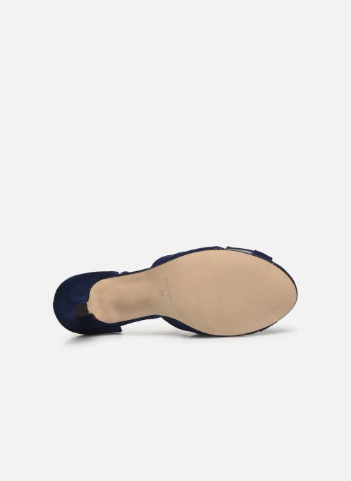 Zapatos de tacón Georgia Rose Semosta Azul vista de arriba