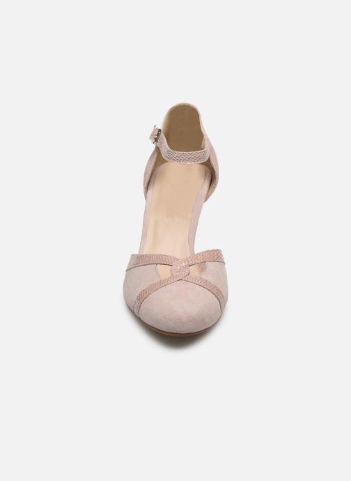 Zapatos de tacón Georgia Rose Sabousa Rosa vista del modelo