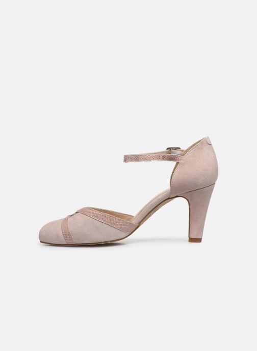 Zapatos de tacón Georgia Rose Sabousa Rosa vista de frente