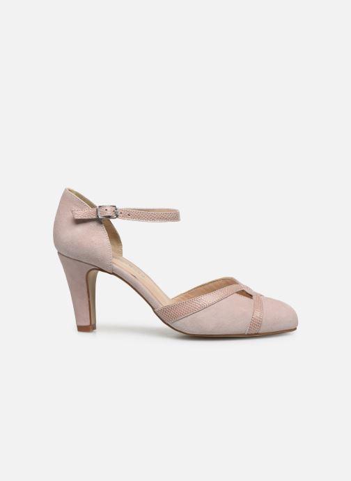 Zapatos de tacón Georgia Rose Sabousa Rosa vistra trasera