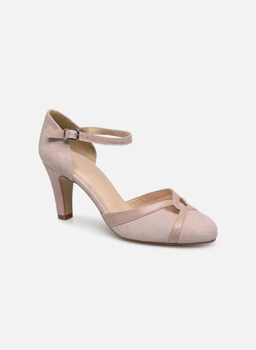Zapatos de tacón Georgia Rose Sabousa Rosa vista de detalle / par
