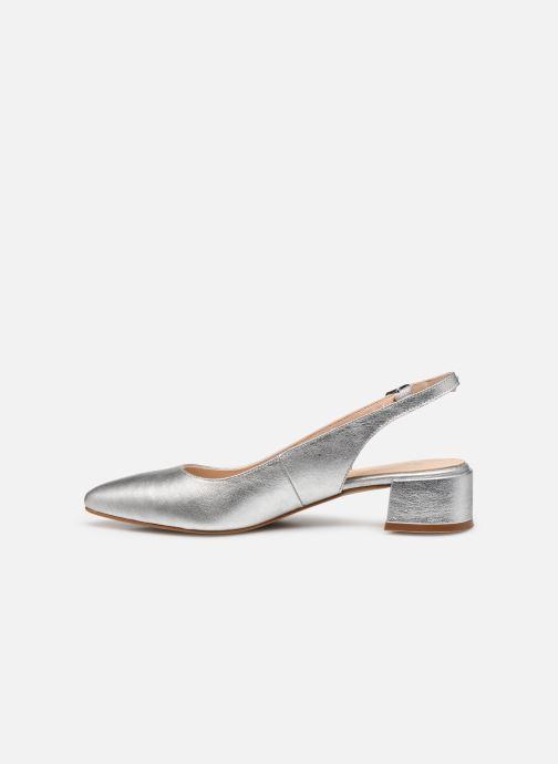 Zapatos de tacón Georgia Rose Slingpa Plateado vista de frente
