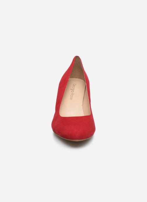 Escarpins Georgia Rose Sarojo Rouge vue portées chaussures