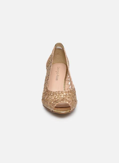 Escarpins Georgia Rose Sixtima Or et bronze vue portées chaussures