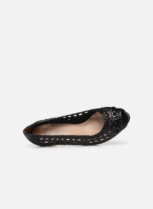 Zapatos de tacón Georgia Rose Sixtima Negro vista lateral izquierda