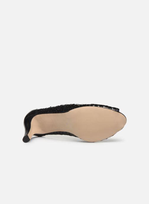 Zapatos de tacón Georgia Rose Sixtima Negro vista de arriba
