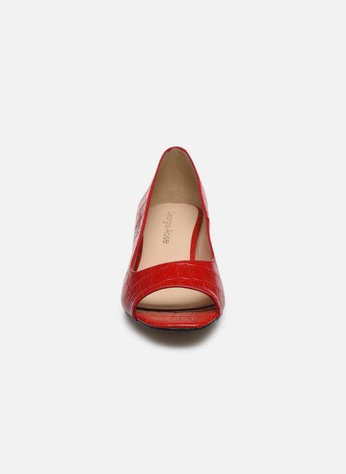 Escarpins Georgia Rose Solimo Rouge vue portées chaussures