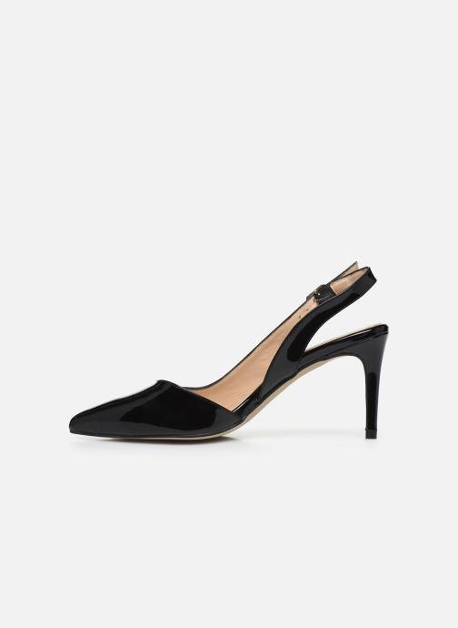 Zapatos de tacón Georgia Rose Saepi Negro vista de frente