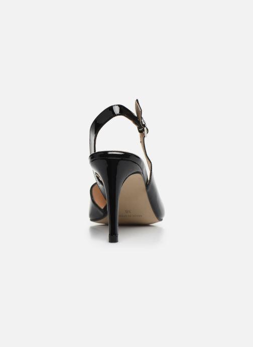Zapatos de tacón Georgia Rose Saepi Negro vista lateral derecha