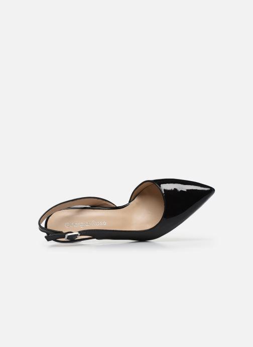 Zapatos de tacón Georgia Rose Saepi Negro vista lateral izquierda