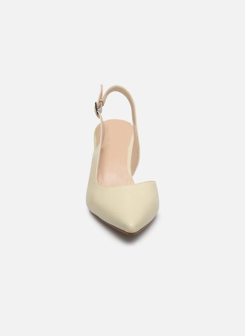 Zapatos de tacón Georgia Rose Saepi Blanco vista del modelo