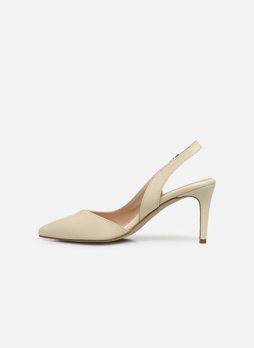 Zapatos de tacón Georgia Rose Saepi Blanco vista de frente
