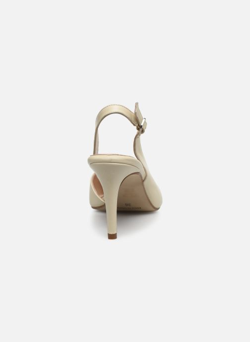 Zapatos de tacón Georgia Rose Saepi Blanco vista lateral derecha