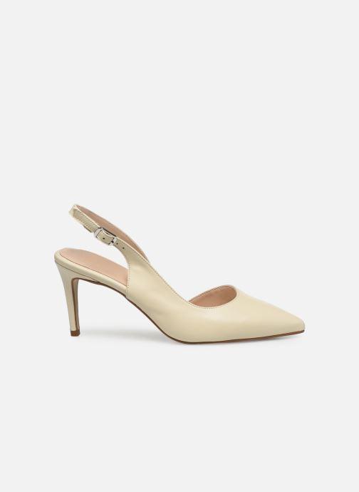 Zapatos de tacón Georgia Rose Saepi Blanco vistra trasera