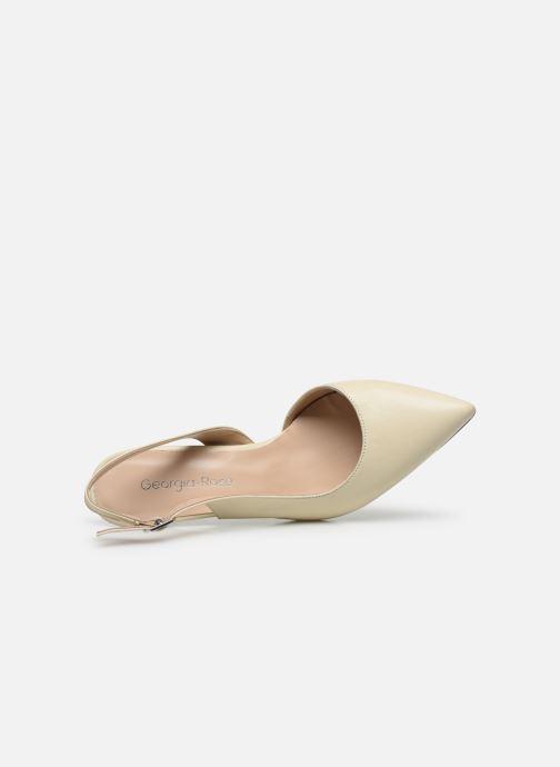 Zapatos de tacón Georgia Rose Saepi Blanco vista lateral izquierda