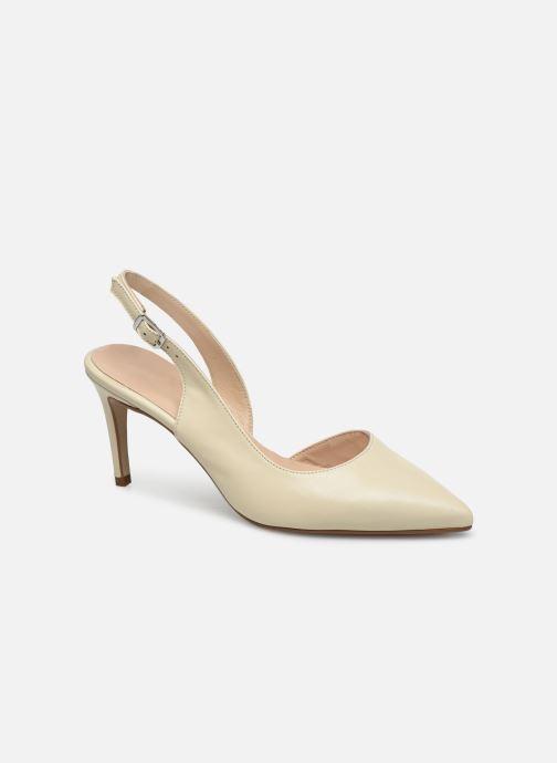 Zapatos de tacón Georgia Rose Saepi Blanco vista de detalle / par