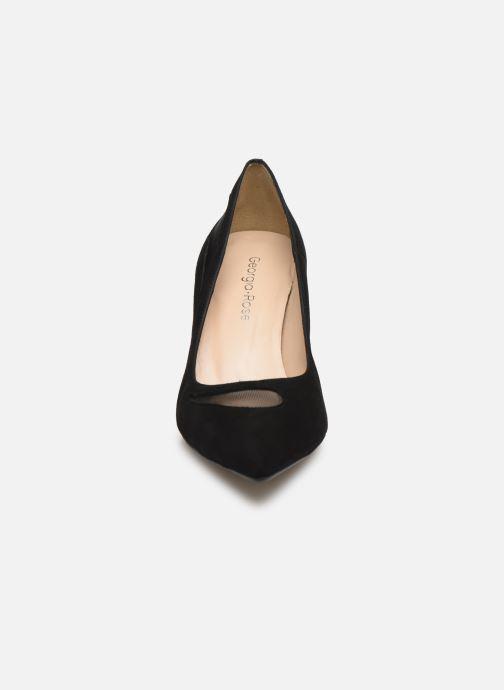 Zapatos de tacón Georgia Rose Sypita Negro vista del modelo