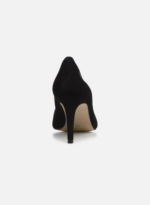 Zapatos de tacón Georgia Rose Sypita Negro vista lateral derecha