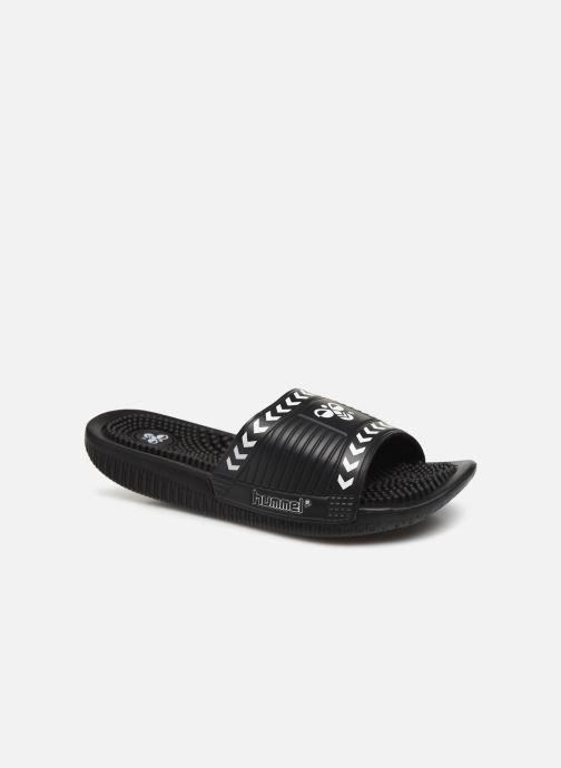 Sandales et nu-pieds Hummel Cam Pool Slide Noir vue détail/paire