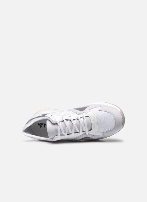 Sneakers Hummel Edmonton Premium Bianco immagine sinistra