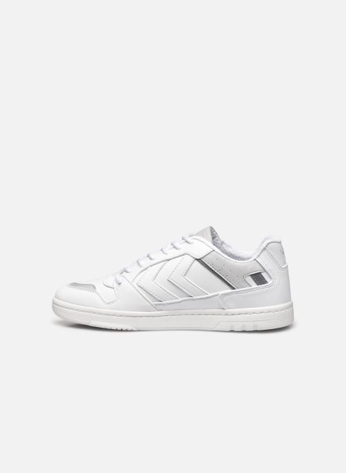 Sneakers Hummel Power Play Premium Bianco immagine frontale