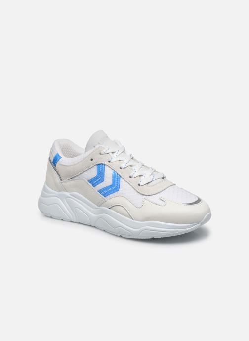 Chaussures de sport Hummel Braga Vinyl Blanc vue détail/paire