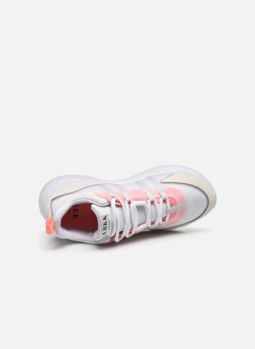 Sneaker Arkk Copenhagen Lyron Mesh W weiß ansicht von links