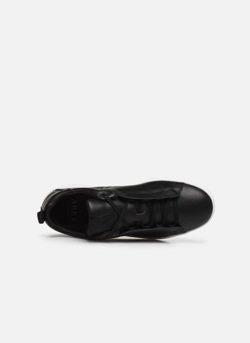 Baskets ARKK COPENHAGEN Uniklass Leather W Noir vue gauche