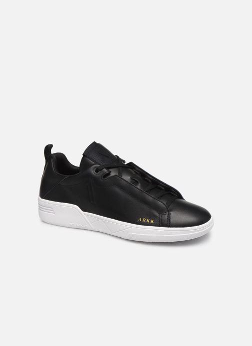 Baskets ARKK COPENHAGEN Uniklass Leather W Noir vue détail/paire