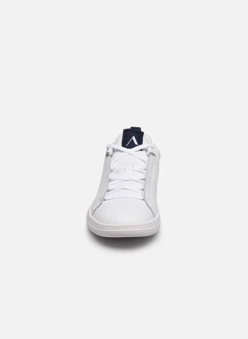 Baskets Arkk Copenhagen Uniklass Leather W Blanc vue portées chaussures