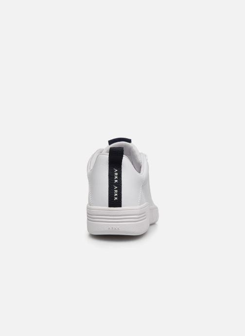 Baskets Arkk Copenhagen Uniklass Leather W Blanc vue droite