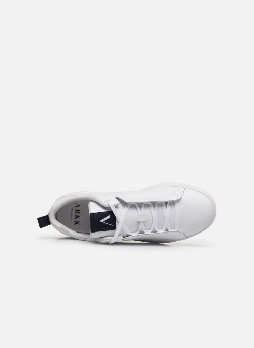 Sneakers Arkk Copenhagen Uniklass Leather W Bianco immagine sinistra