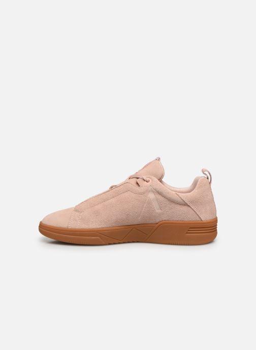 Sneakers Arkk Copenhagen Uniklass Suede W Roze voorkant