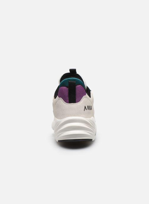 Sneakers Arkk Copenhagen Kanetyk Suede M Beige immagine destra