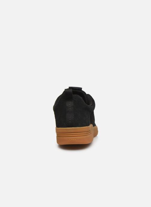 Baskets Arkk Copenhagen Uniklass Suede M Noir vue droite