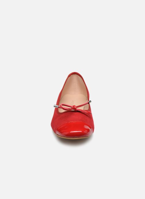 Ballerines Georgia Rose Soft Silina Rouge vue portées chaussures