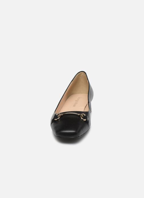 Ballerines Georgia Rose Soft Sibijo Noir vue portées chaussures