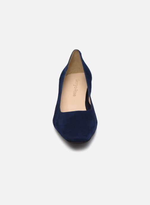Zapatos de tacón Georgia Rose Soft Sidina Azul vista del modelo