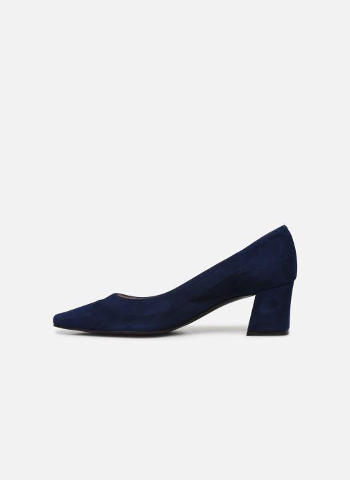 Zapatos de tacón Georgia Rose Soft Sidina Azul vista de frente