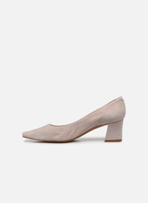 Zapatos de tacón Georgia Rose Soft Sidina Beige vista de frente