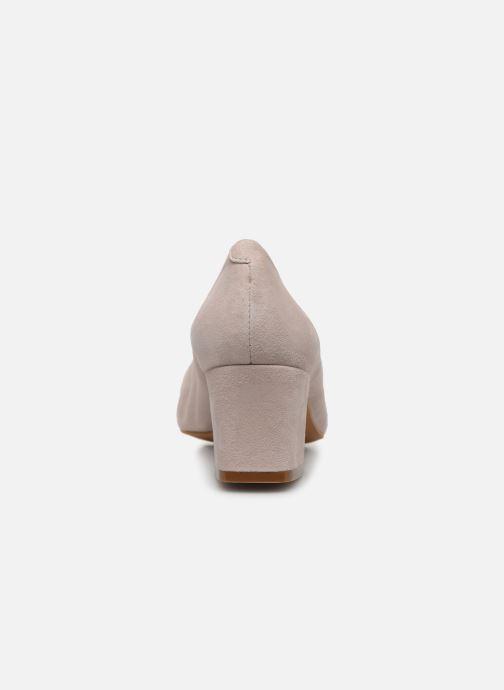 Zapatos de tacón Georgia Rose Soft Sidina Beige vista lateral derecha