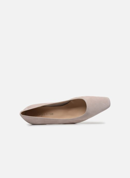 Zapatos de tacón Georgia Rose Soft Sidina Beige vista lateral izquierda