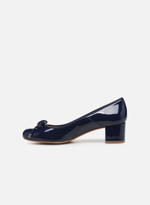 Zapatos de tacón Georgia Rose Soft Staci Azul vista de frente