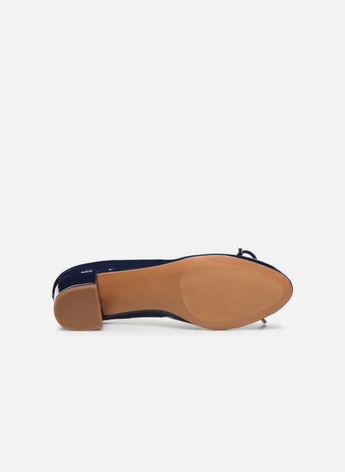 Zapatos de tacón Georgia Rose Soft Staci Azul vista de arriba