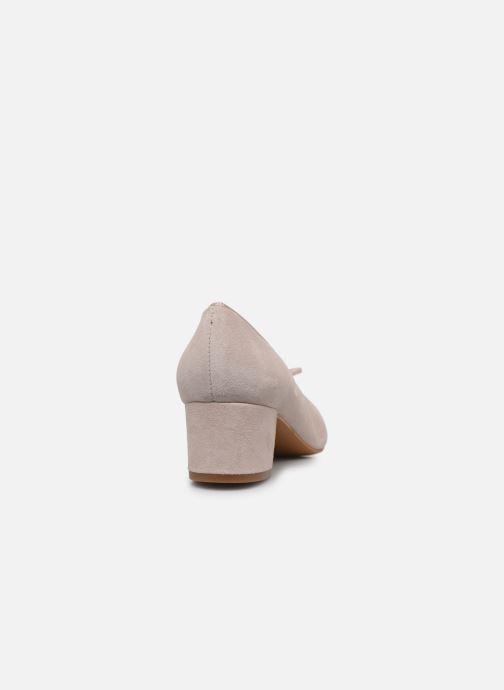 Zapatos de tacón Georgia Rose Soft Staci Beige vista lateral derecha