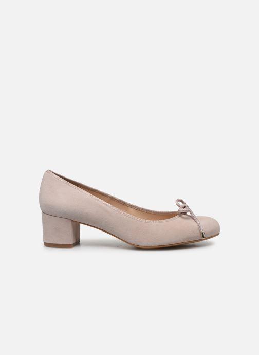 Zapatos de tacón Georgia Rose Soft Staci Beige vistra trasera