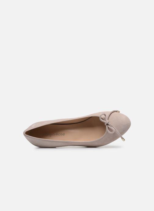 Zapatos de tacón Georgia Rose Soft Staci Beige vista lateral izquierda
